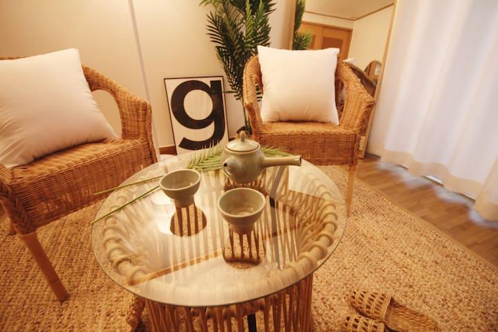 ❥❥ 감성 충전 ❥❥Beach 1min / Large & Private room
