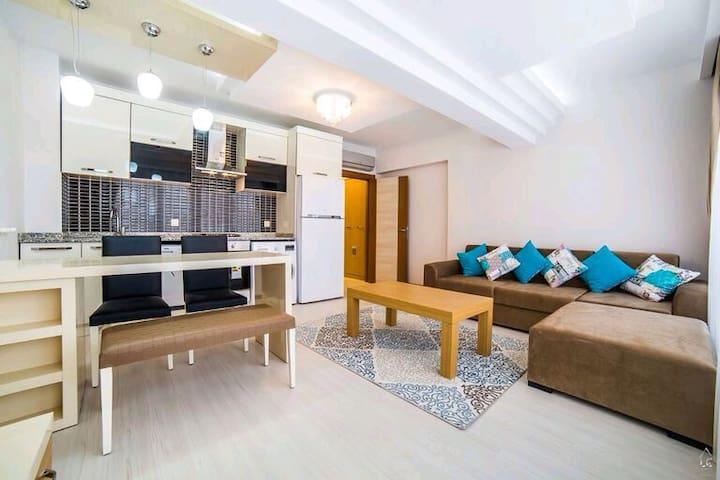 Günü birlik lüx havuzlu residence - Antalya - Apartamento