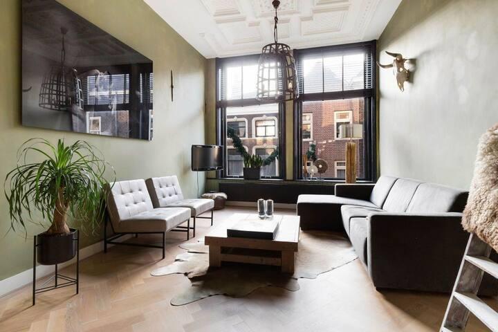 Monumentaal appartement in centrum van Gouda