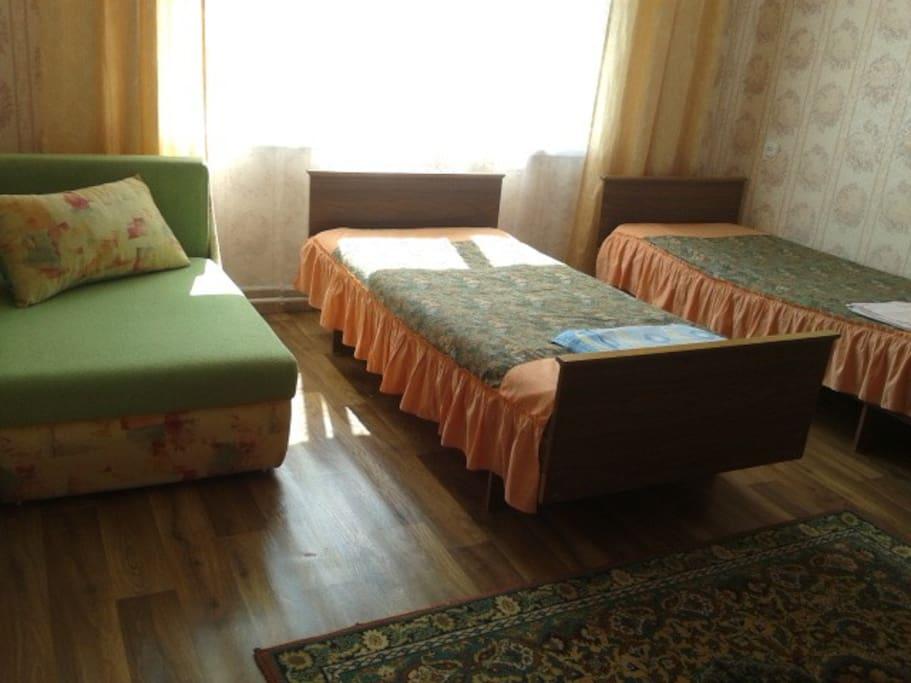 спальня-гостинная