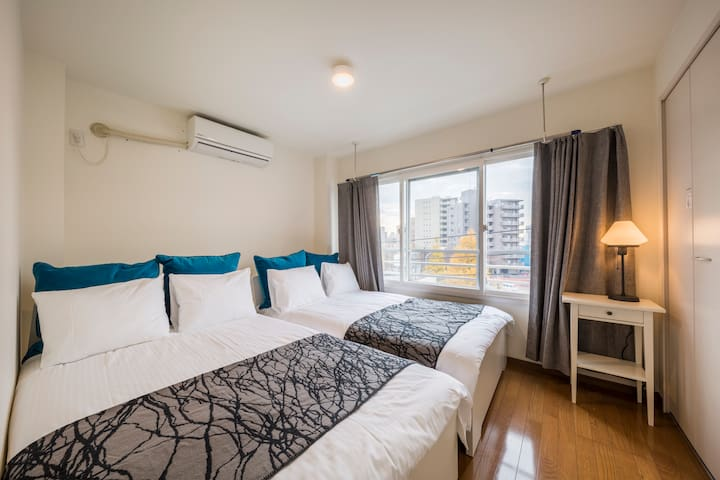 【TopFloorRoom】4beds/3sofa beds/max-11ppl AppleTV - Bunkyo - Apartmen
