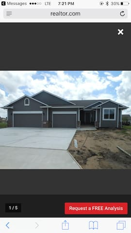 Beautiful new home located near Golf Course