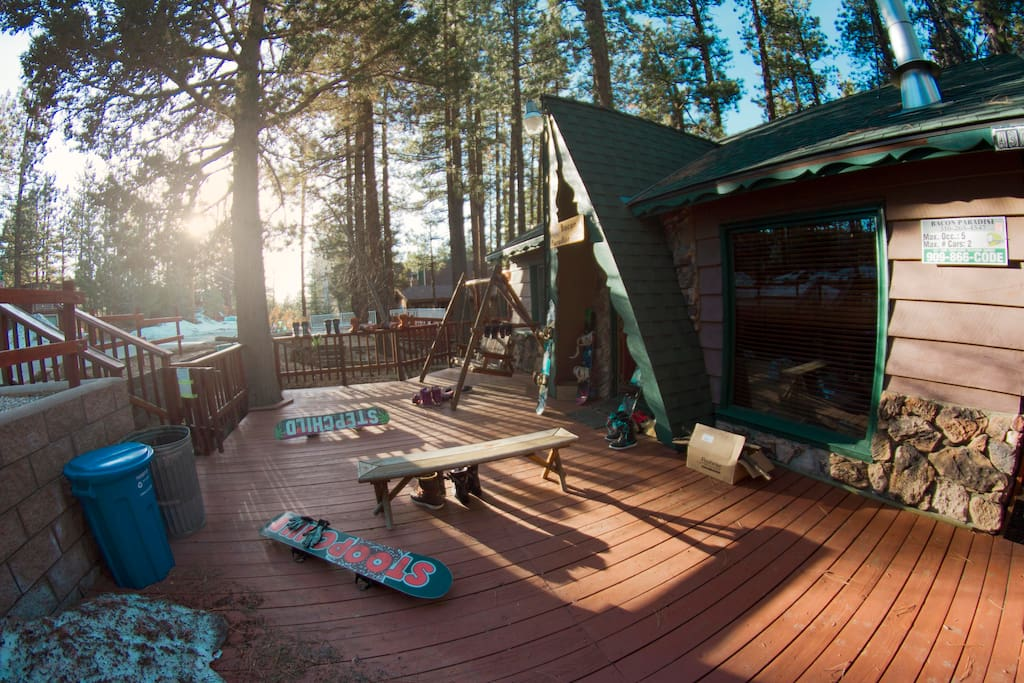 Bacon Paradise Affordable Living In Big Bear Lake Cabins