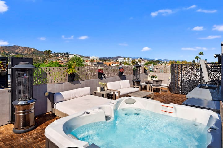 5flr modern Hollywood luxury family home best view