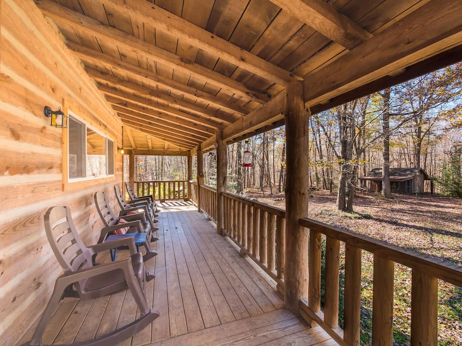 Chattanooga vacation rentals trails end cabins for for Large cabin rentals in tennessee