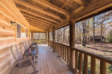 Trails End, Log Cabin, 12 miles from Chattanooga - Signal Mountain
