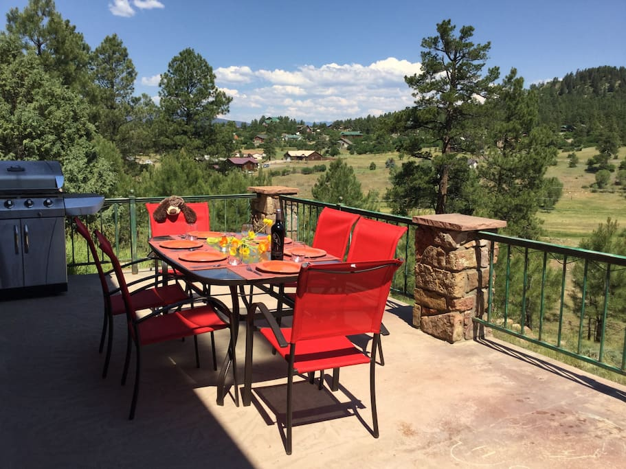 Adventure to Pagosa Springs when you stay at this vacation rental house!