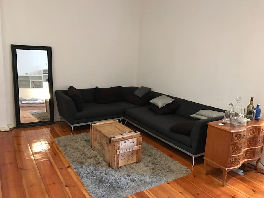45qm furnished apartment in berlin flats for rent in berlin berlin germany. Black Bedroom Furniture Sets. Home Design Ideas