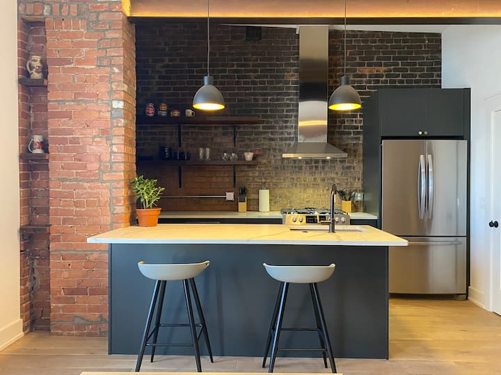 Warm Loft-Like Condo in the Heart of Detroit