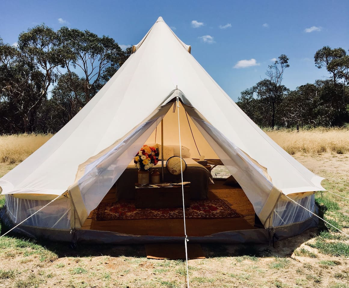 Tent on a Hill 1