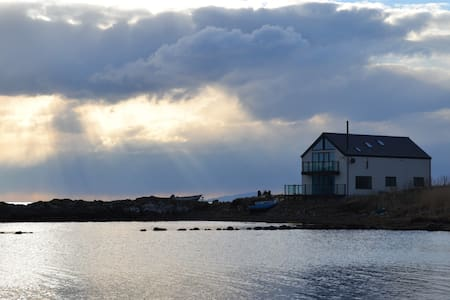 Tigh Bata, house in the sea. - Waternish