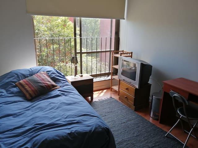 Great room in Vitacura near clinica las condes