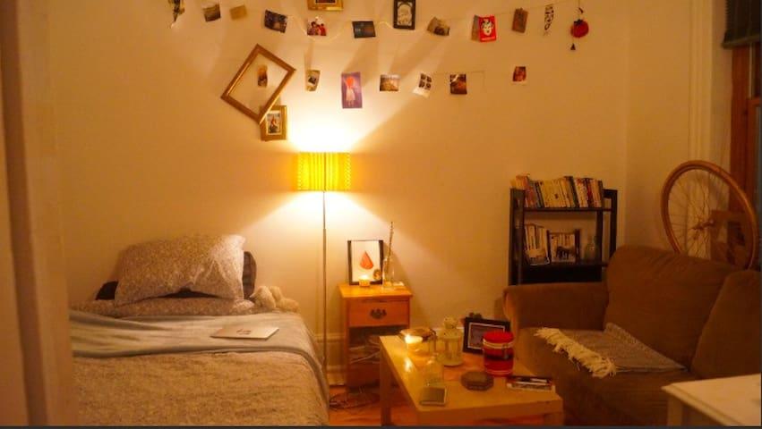 Chambre cosy en plein coeur de Montréal