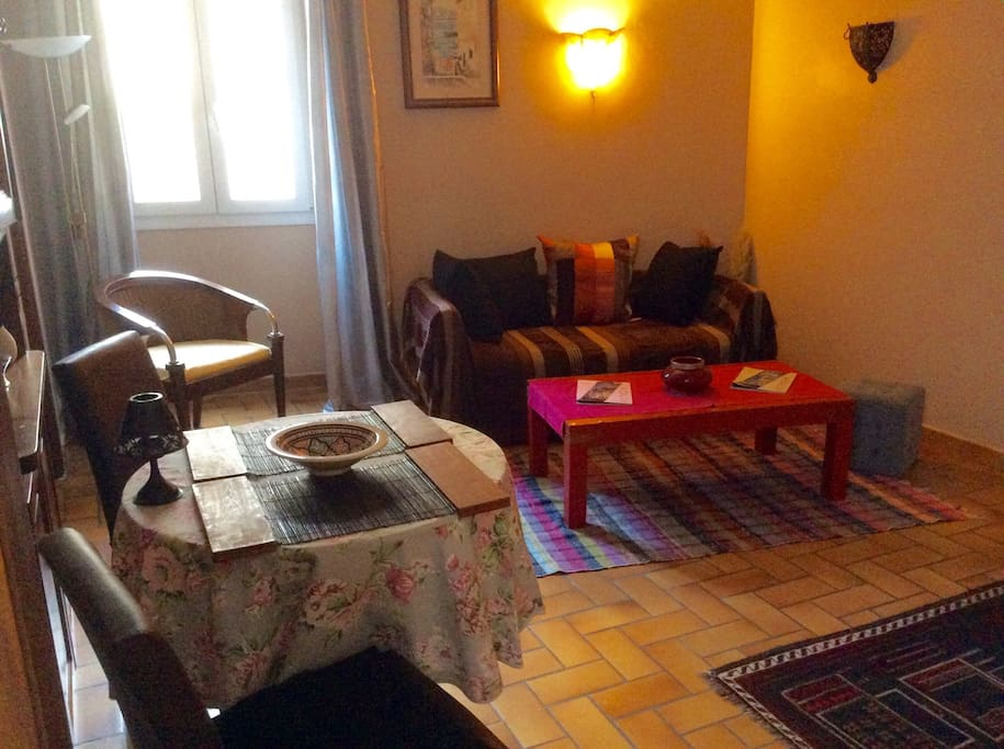 Cosy salon de 17m2