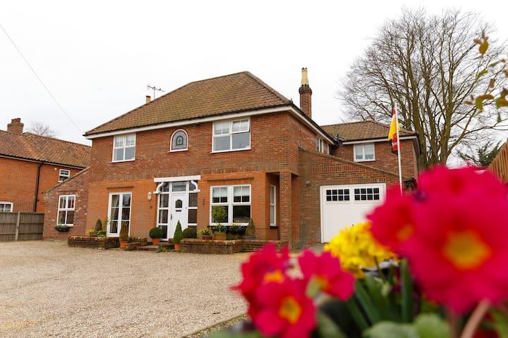 Luxury North Norfolk Edwardian Town House B&B