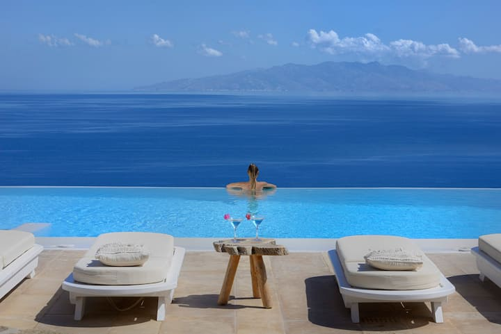 Lia Villas Mykonos PRIVATE INFINITY POOL
