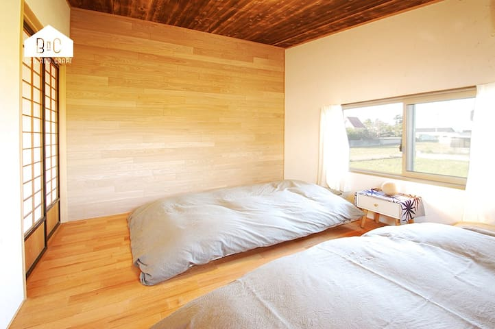 "BED AND CRAFT ""MOMO-HOUSE"" FOR ONE GROUP ONLY - Nanto-shi - Departamento anexo"