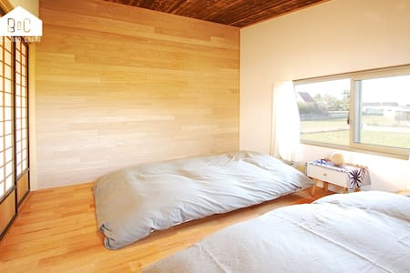 "BED AND CRAFT ""MOMO-HOUSE"" FOR ONE GROUP ONLY - Nanto-shi - 独立屋"