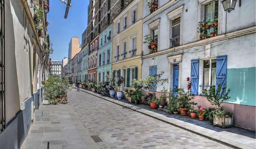 Charmante maison Rue Crémieux