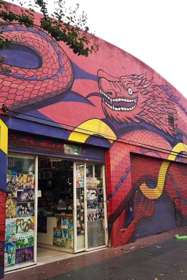 Street art of Chinatown
