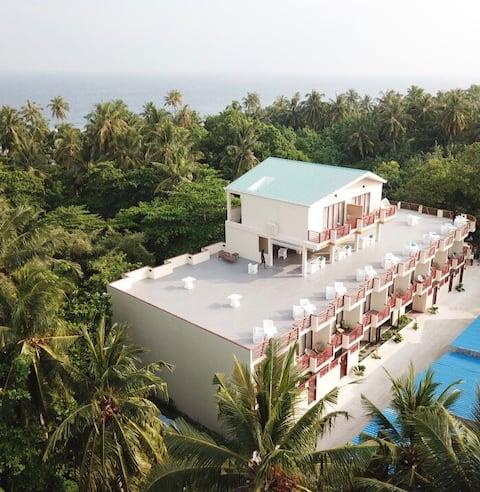White Sand Dhigurah Maldives