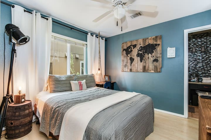 NW Charming A-town Bedroom