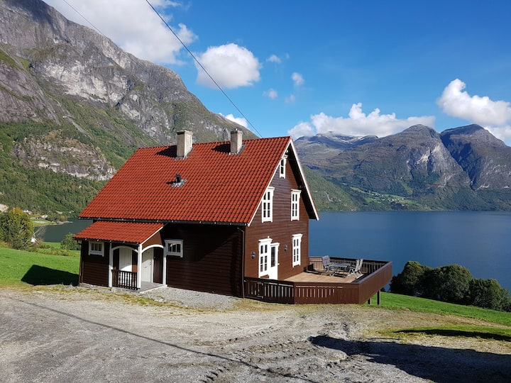 Charming timber house in Stryn Norway