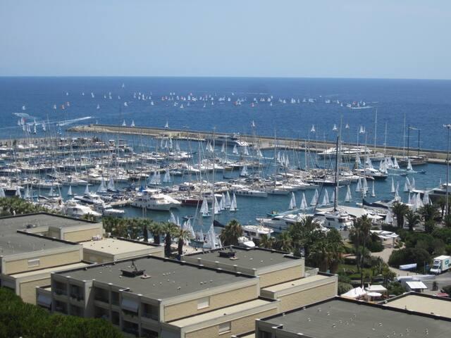 Abitare al Porto Marina degli Aregai Santo Stefano - Santo Stefano al Mare - Leilighet