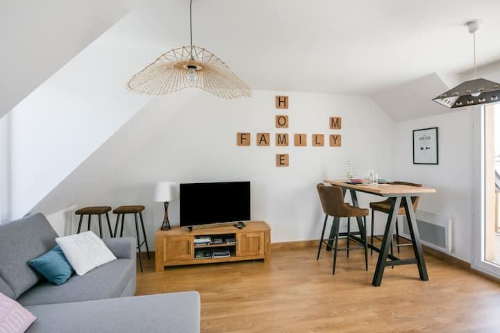 L'Escapade Malouine - Appartement 2* avec balcon