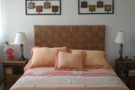 ACOGEDORA HABITACION, ZONA ACCESIBLE Y FAMILIAR - Santiago de Querétaro - Hus
