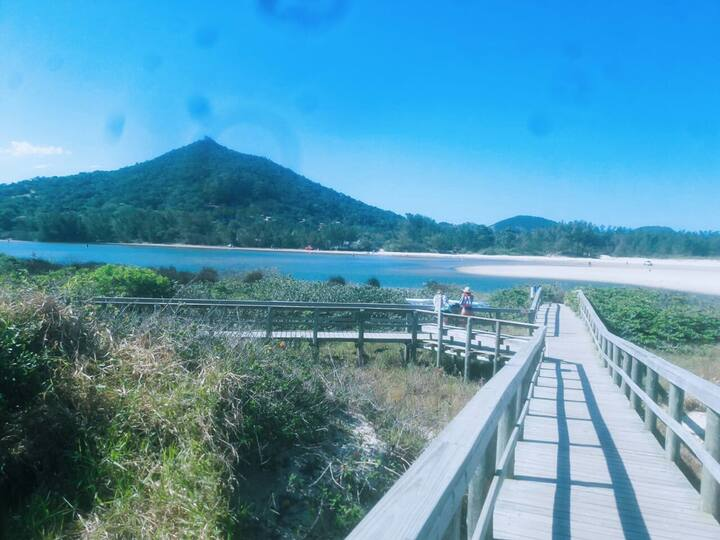 Quartos na Barra de Ibiraquera