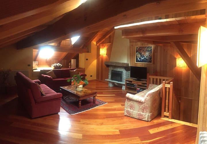 L'abri charmant -Casa di charme e relax con sauna