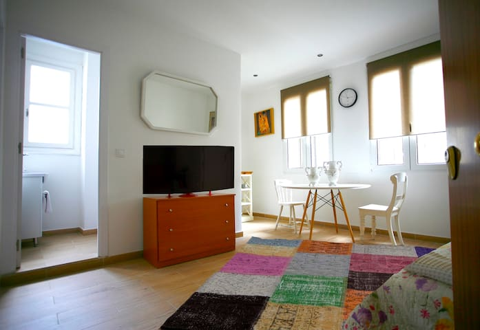 Luminoso y relajado apartamento en el Casco Viejo