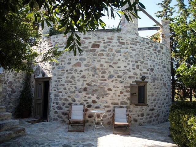 Enchanting 1-bedroom island house - Chrousa