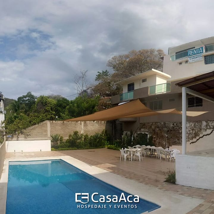 Casa en Acapulco con Alberca Privada