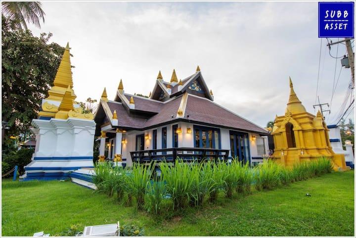 Beachfront Thai Modern PoolVilla | Pranburi Beach