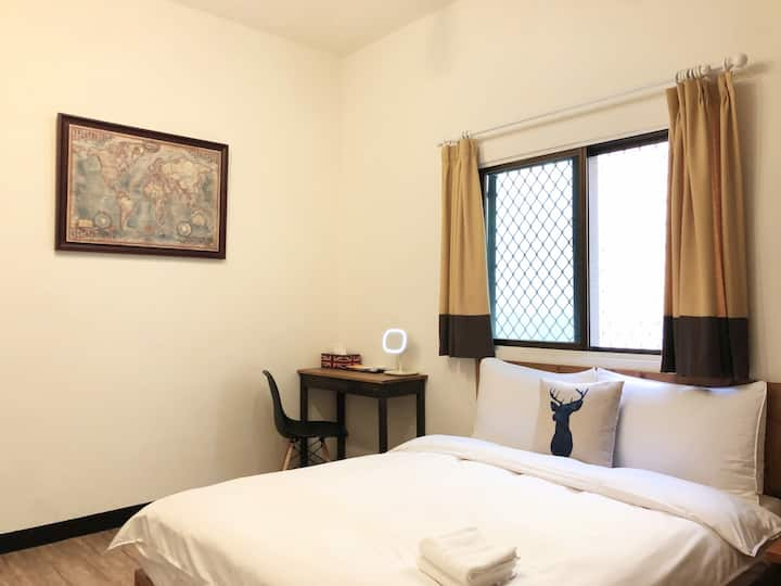 3F Cosy Room with private shower room@downtown