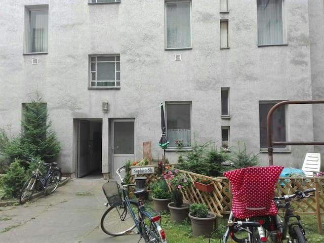 Kleine gemütliche Wohnung im Schillerkiez Neukölln - Berlín - Apartamento