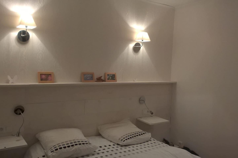 La chambre 1, lit Queen size