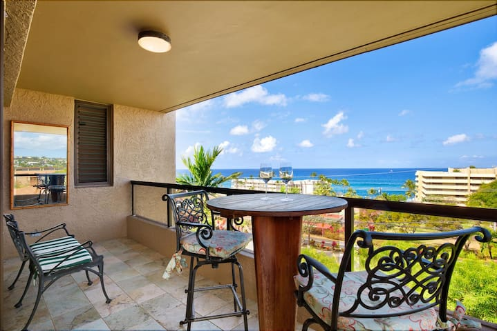 Kona Pacific A301 Ocean Views & Walk to Town - Kailua-Kona - Apartment