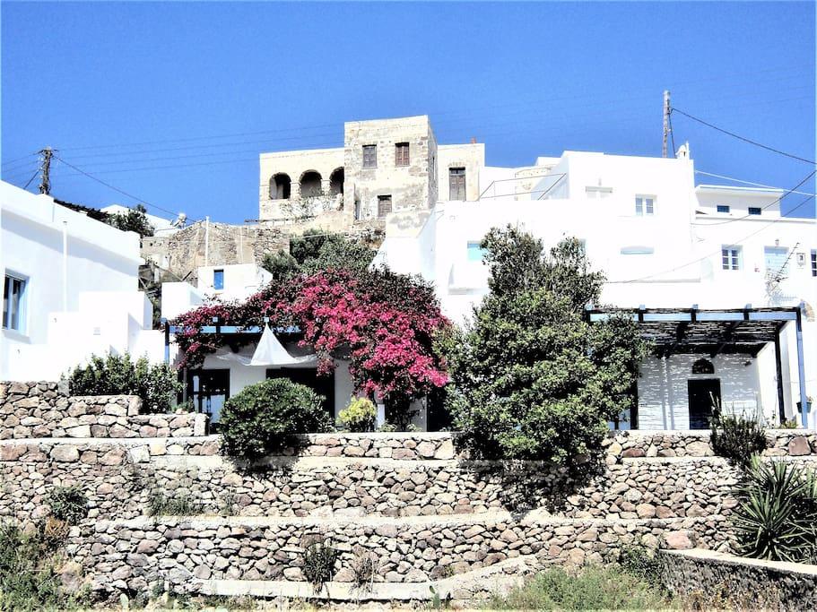 La casa della sirena maisons cycladiques gr ce louer - La residence eb par replinger hossner architects ...