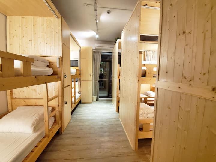 途中台東青年旅舍背包客:10人混合優惠房