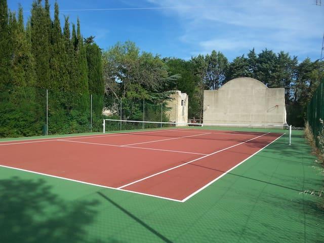 tennis rénové en 2015