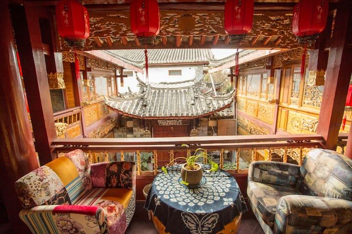 大研古城木心居精品客栈-优越地理位置,艺术空间,温馨舒适。 - Lijiang - Boutique hotel