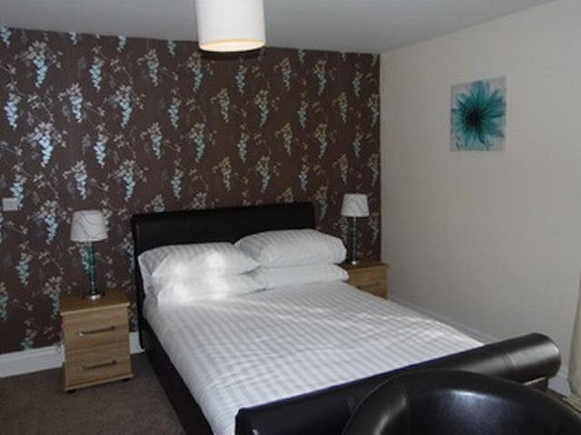 Double room 1 at Clerk Laithe Lodge