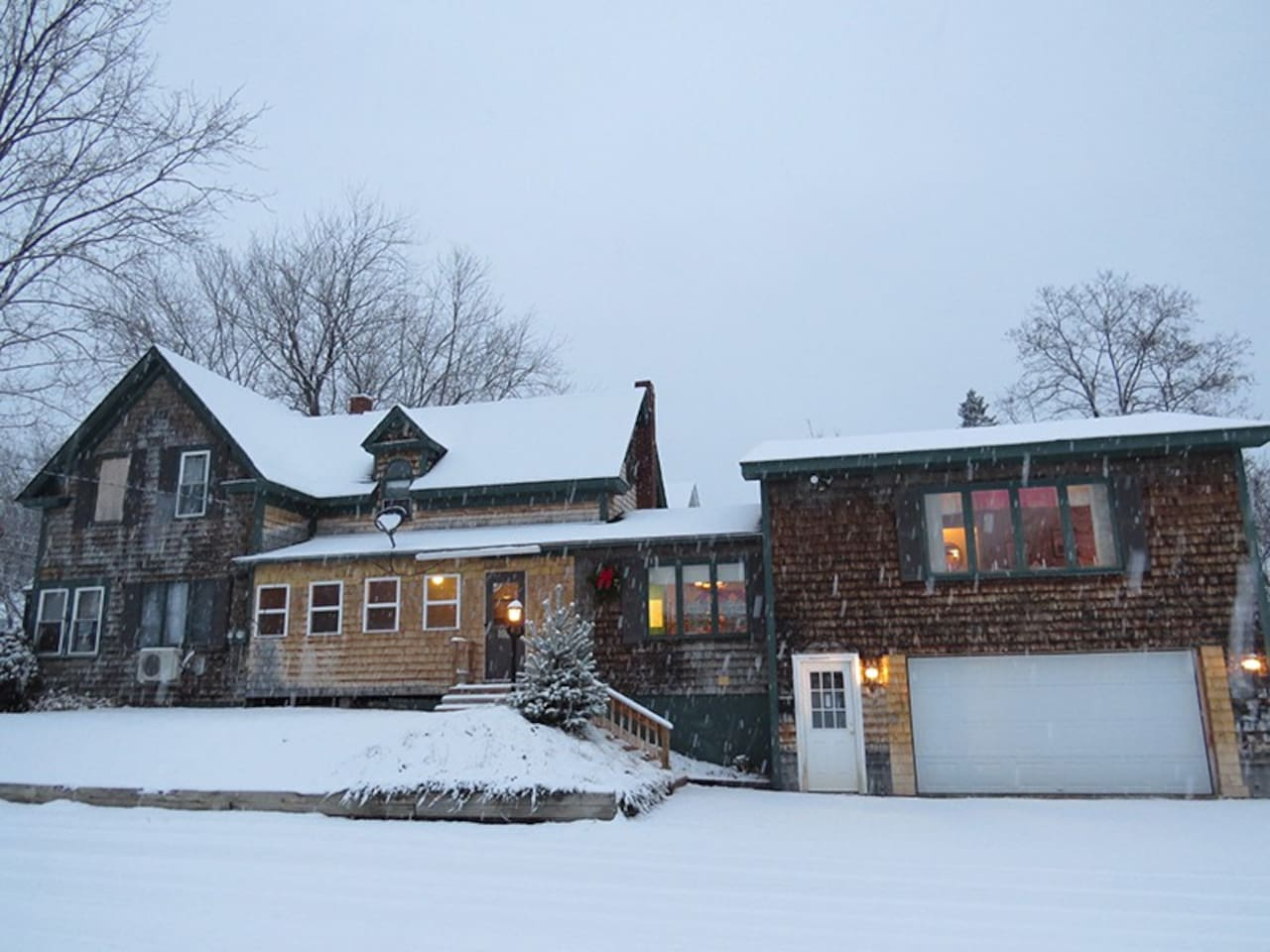 Your cozy winter sledding home base!