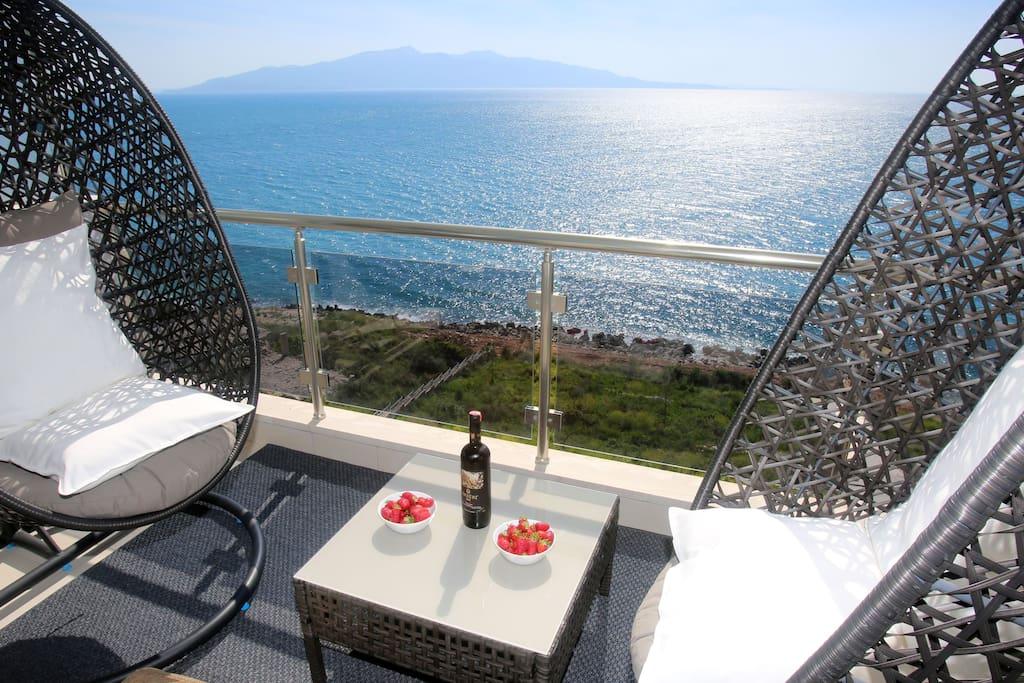 seafront balcony