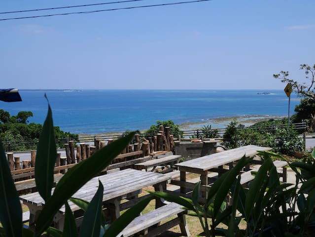 For large group 16+☆Panoramic Ocean View☆Nanjo/BBQ