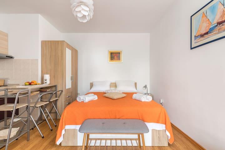 Sanimar apartment in the center near the beach