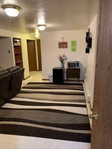 Private basement for your stay in Butte!